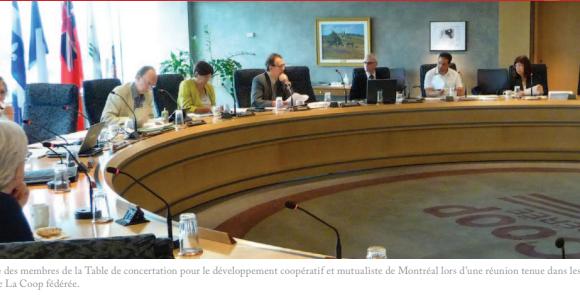 Accentuer le développement coopératif à Montréal